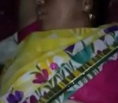 Sleeping Municipal bhabhi pussy captured by soft-pedal