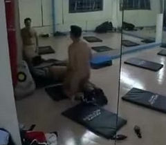 indian legal age teenager in gym accouterment 2