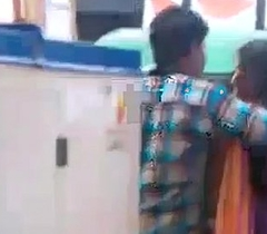 tamil stiffener giving a kiss in public