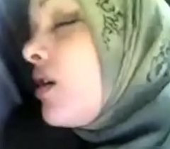 muslim hijab sex in car