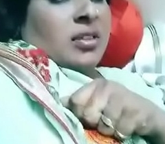 tamil MILF resembling her boobs out of reach of tiktok video