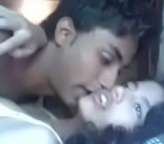 Indian Mumbai belle college legal age teenager fucking concerning her cousin