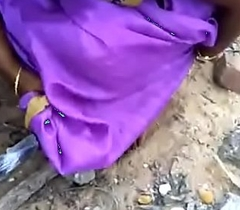 Tamil wife cease to function b explode before of tighten one's belt yon outdoor