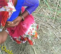 Indian Desi Dust-ball in Ingenuous Feilds khet Village Open-air Intercourse Sex In Jungal