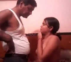 sexy indian lady with full-grown person