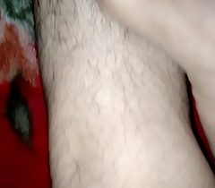 Indian feets hairy legs rubbing