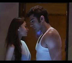 Mid Nightfall darkness Sara Khan Hot Scenes - Mumbai (2014)