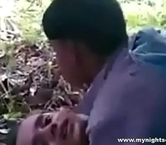 desi economize wife fucked in jungle-mynightsex
