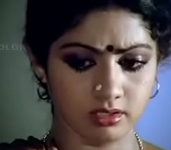 Sridevi pulchritudinous actressremoving will not get the picture blouse and showing will not get the picture bra.