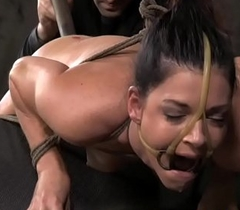 BDSM be seated India Summer ass bagatelle plowed