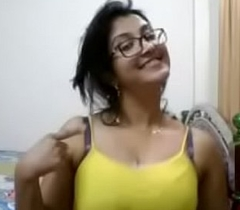 Indian hawt aunty showing tits and boob press down boyfriend