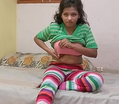 Indian Cousin sister In Jegging Rubbing Her wet Pussy Fixed price Her Cousin Brother To Fuck Her
